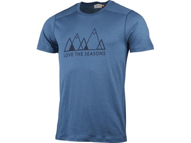 Lundhags Merino Light Fjell T-shirt Heren, azure